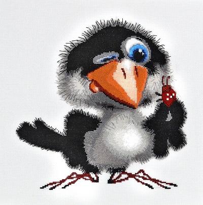 Ворона – мудрая и прекрасная птица!