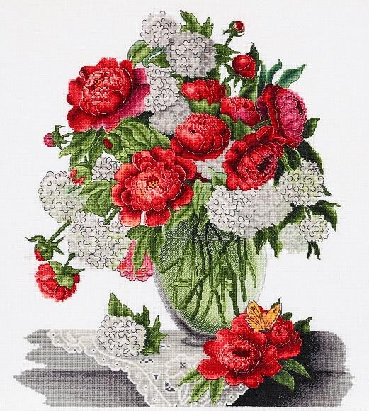 Пионы и гортензия – цветы любви и надежды!