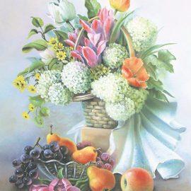 Al1013(Цветы и фрукты)