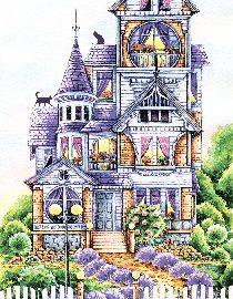 AL1055(Викторианский домик)