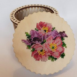 Вышивка бисером -шкатулки
